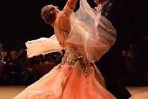 Pár tanec ilustrační