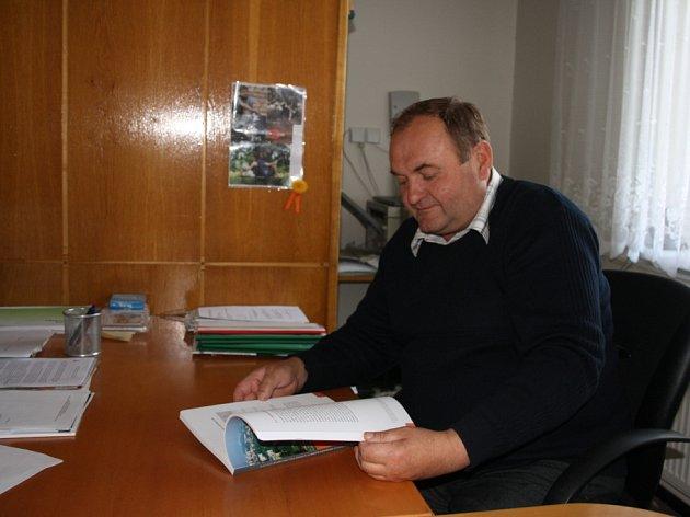 Starosta obce František Tvarůžek