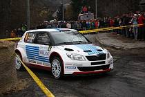 Druhá etapa Bonver Valašské rally 2011 ve Valašském Meziříčí.