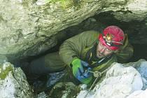 Jozef Szalai se chce na místo objevu jeskyně ještě určitě vrátit.