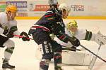 Hokejisté Vsetína porazili ve výročním zápase v retro dresech k 80. narozeninám od založení klubu Chomutov 5:2.