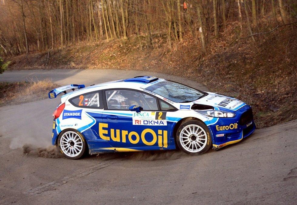 37. ročníku Valašská rally ValMez. Pech. Ilustrační foto.
