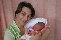 Jana Loupalová a dcera Kateřina Buchalová, 47cm, 3300g, narozena 22. 8. 2010 ve Valašském Meziříčí