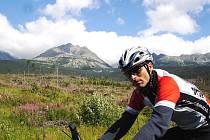 Svatopluk Božák odjel svůj první ultramaraton loni vzávodě Eurorace, který měl 1200 kilometrů a vedl čtyřmi státy.
