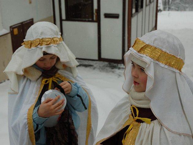 Charita uspořádala každoroční Tříkrálovou sbírku.