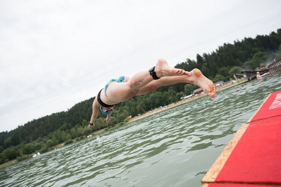 Triatlonový závod VALACHY MAN - dospělí.