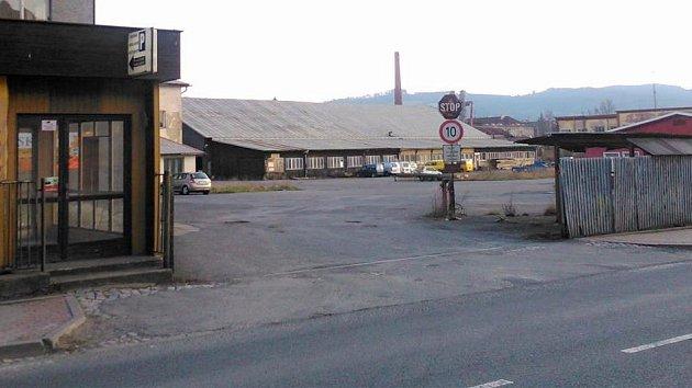 V areálu bývalé Křižanovy pily se chystá stavba obchodního centra