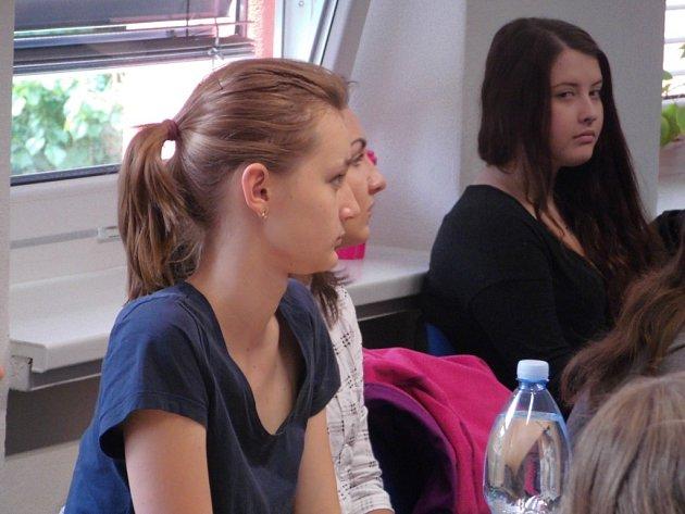 Budoucí spisovatelé se v Základní škole Trávníky ve Vsetíně setkali s profesionály.