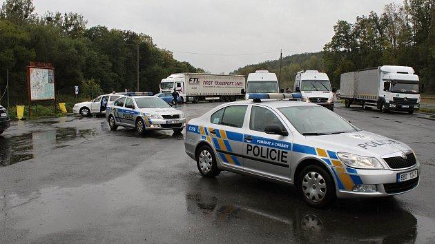 Rozsáhlá policejní razie na Valašsku