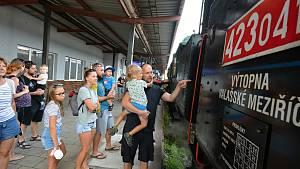 Rožnovské parní léto, Parní lokomotiva Velký býček