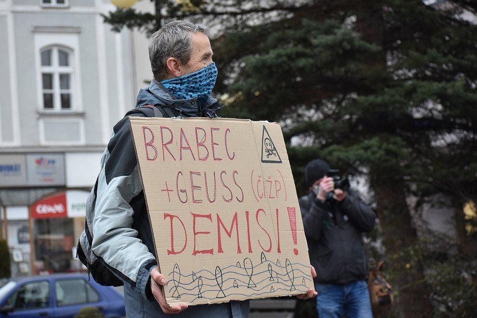 Pochod za Bečvu - 24. ledna 2021
