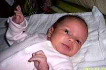 Lucie Strbačková, 9. 12. 2011, 3200 g , 49 cm, narozená ve Vsetíně.