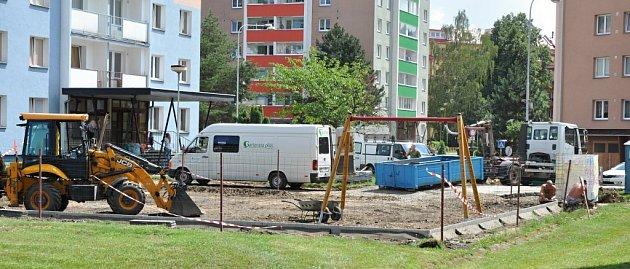 Rákosníčkovo hřiště bude připravené kotevření 13.srpna.