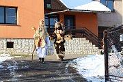 Mikulášská obchůzka v Horní Lidči