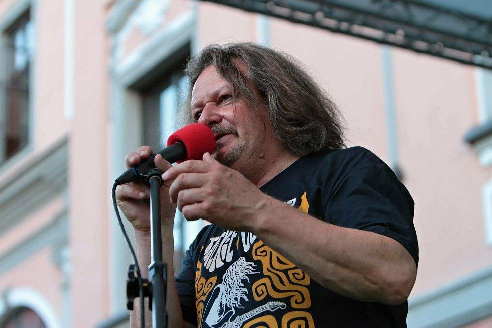 Dramaturg Valašského špalíčku Karel Prokeš.