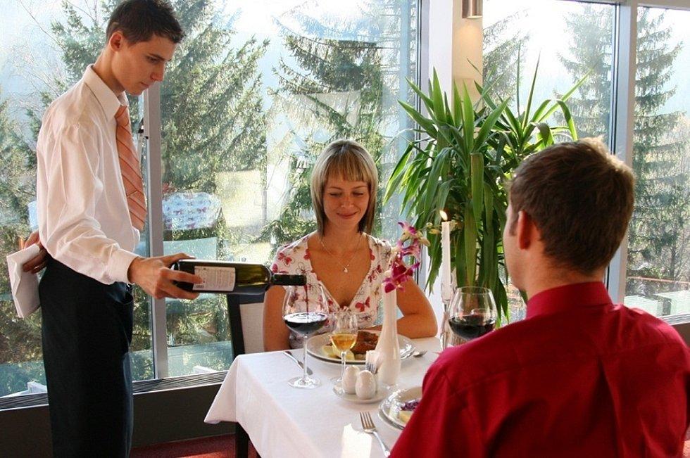 Valentýn v Resortu Valachy Velké Karlovice.