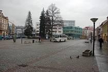 Dolní náměstí ve Vsetíně