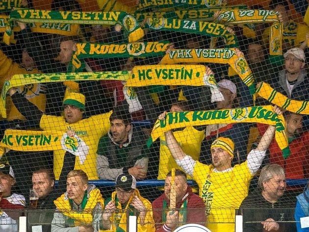Fanoušci Vsetína. Ilustrační foto