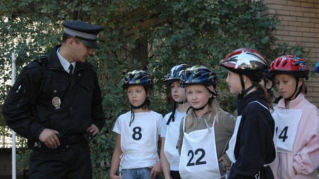 Včera mezi sebou soutěžili žáci páté třídy Základní školy Trávníky.