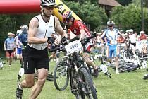 Maraton Valašská 24 na Bystřičce odstartoval v sobotu 26. června ve 12 hodin v areálu U Lukášů na Bystřičce.