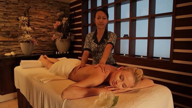 Resort Valachy: masáže bali