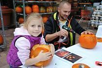 Dýňové tvoření v Zahradním centru ve Valašském Meziříčí; sobota 19. října 2019
