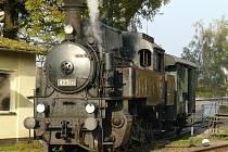 Málo známá parní lokomotiva Velký býček z roku 1828.