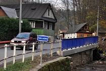 Opravený most ve vsetínské místní části Horní Jasenka