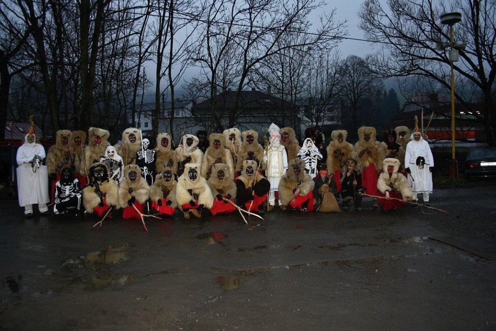 Celá parta ve Valašské Polance
