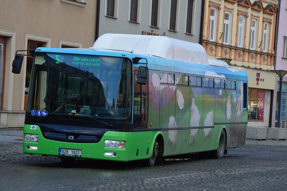 Ekologická doprava ve Vsetíně