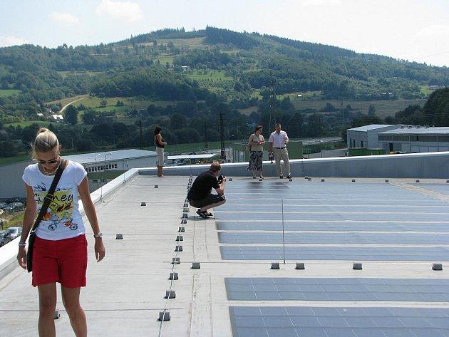 Fotovoltaická elektrárna Bobrky
