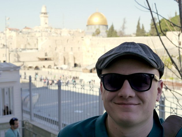 Kristian Lambert v Jeruzalémě.