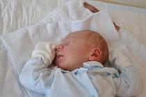 Jaroslav Vraník z obce Pruské, narozen 8.4.2013 ve Vsetínské nemocnici, váha: 3,9 kg.