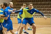 Čeští házenkáři se dnes odpoledne sešli v Rožnově pod Radhoštěm, kde zahájí přípravu na lednové mistrovství Evropy v Chorvatsku.
