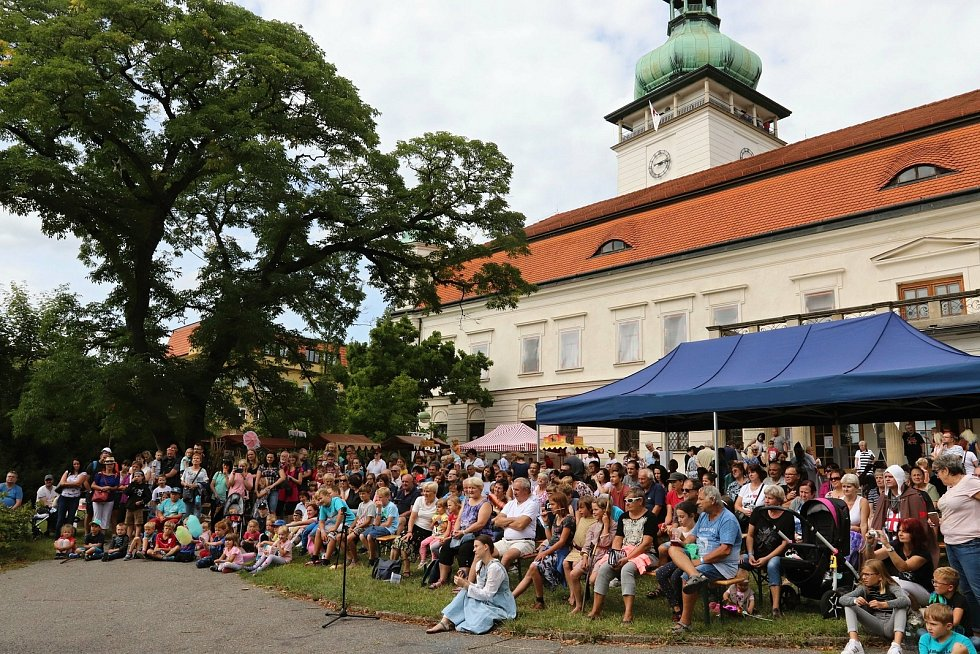 Templářské slavnosti na zámku ve Vsetíně.