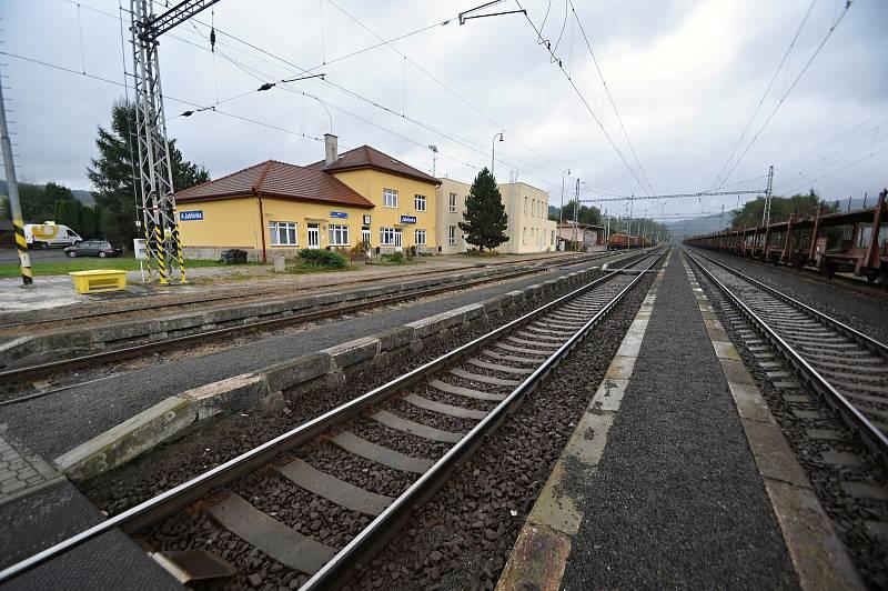 Jablůnka - železniční stanice Jablůnka