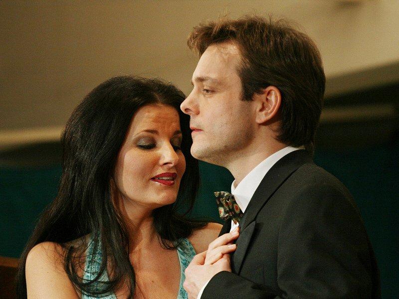 Sopranistka Pavlína Senić a tenor Jan Ondráček.