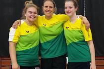prvoligové stolní tenistky Sokola Vsetín 2018-2019