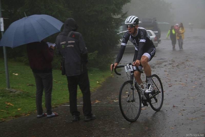 Slezský pohár cyklistů, Závod do vrchu Pusteven