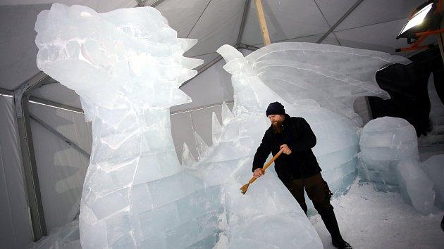 Ledové sochy 2019  Pustevny