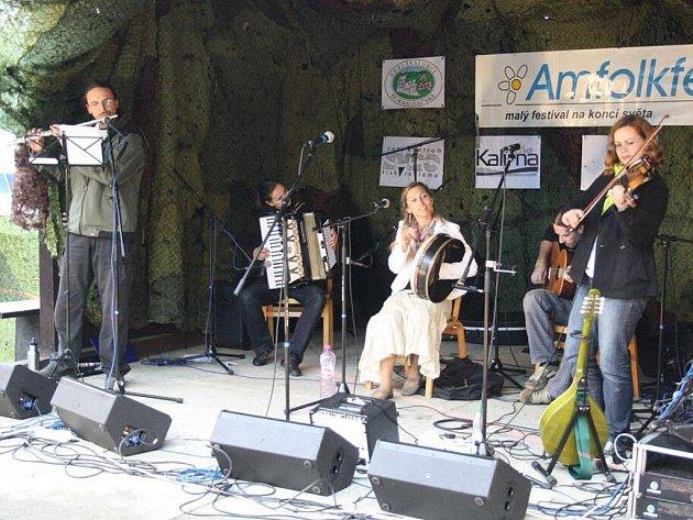 Pulčín pohostil v sobotu 30. července šestnáctý ročník Amfolkfestu.