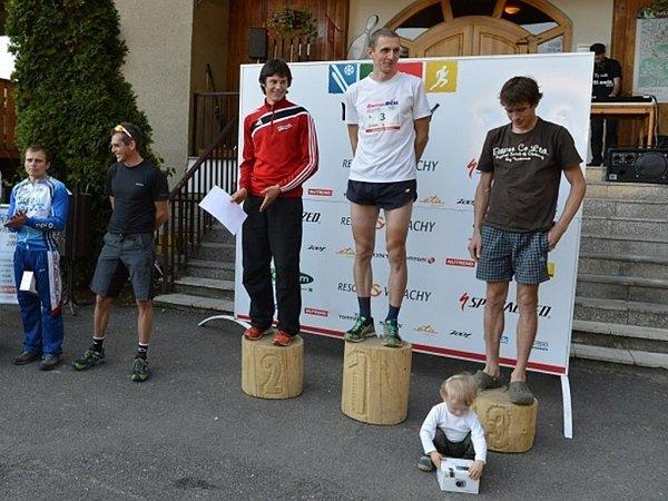 Valachy Tour 2013.Absolutní vítězové vkategorii muži.