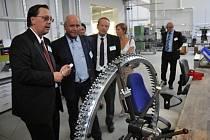 Slavnostní otevření výrobní haly společnosti Mayer&Cie. CZ v průmyslové zóně Vsetín – Bobrky