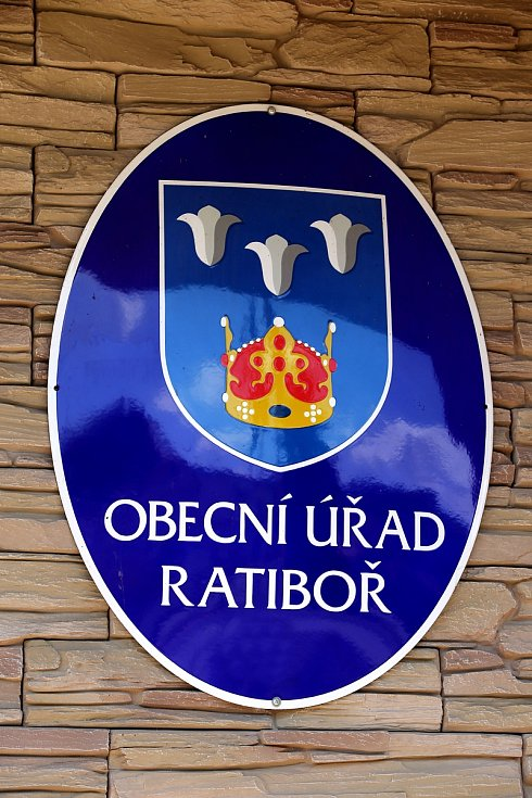 obec Ratiboř - znak
