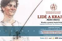 Plakát k výstavě k Lidé a krajina mého srdce v Informačním centru Zvonice na Soláni.