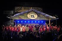15. ročník hudebního festivalu Starý dobrý western v Bystřičce na Vsetínsku.