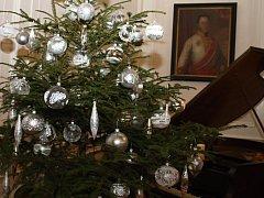Vánoční atmosféra ovládla o víkendu zámek Lešná u Valašského Meziříčí.