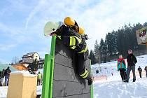 Třetí ročník soutěže Zimní železný hasič Velkých Karlovic uspořádal Sbor dobrovolných hasičů  Velké Karlovice - Tísňavy v sobotu 3. března 2018.