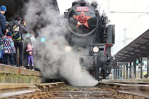 Valašské Velikonoce ve Valašském muzeu v přírodě v Rožnově pod Radhoštěm - parní vlak