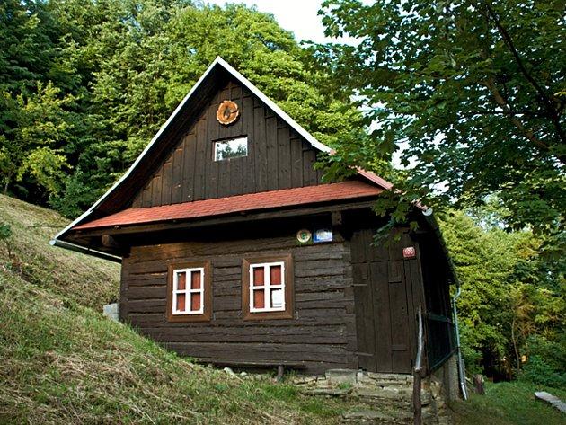 Turistická chata Kusalíno u Vsetína.